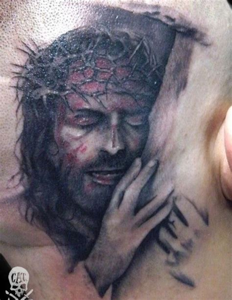 50 Jesus Tattoos For The Faith Love Sacrifices And Strength Jesus With Thorns Tattoos