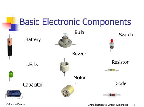 schematic diagram of electronic components a picture diagram of a torch ppt