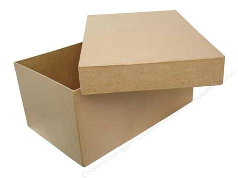Craft Paper Mache Boxes - paper mache box 11 x 7 in photo by craft pedlars 6