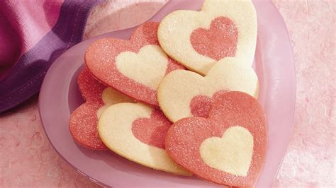 how to make valentines cookies rolled cookies recipe pillsbury