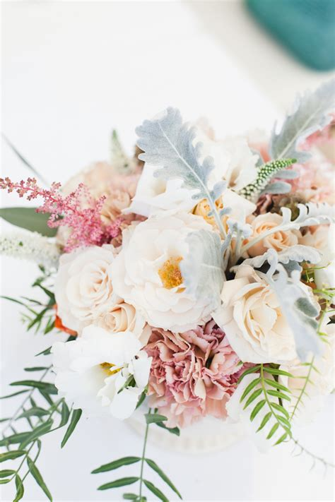 Flowers For Baby Shower by A Modern Botanical Baby Shower Camille Styles
