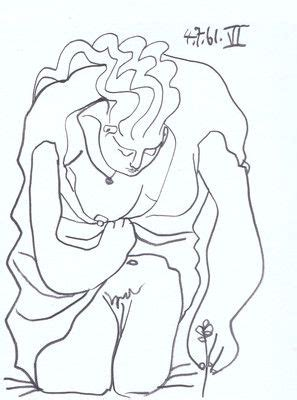 picasso line drawings and 0486241963 1000 images about art single line drawings on contour line drawing pablo picasso