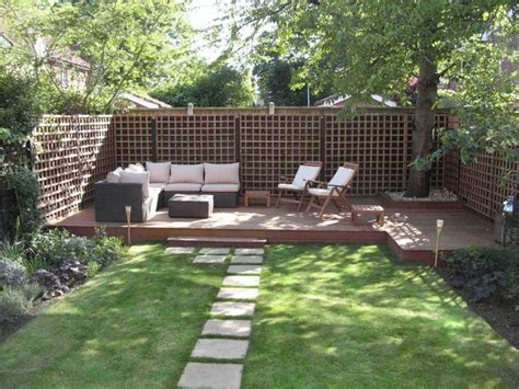 Landscape Ideas For Narrow Small Yards Small Garden Small Narrow Backyard Ideas