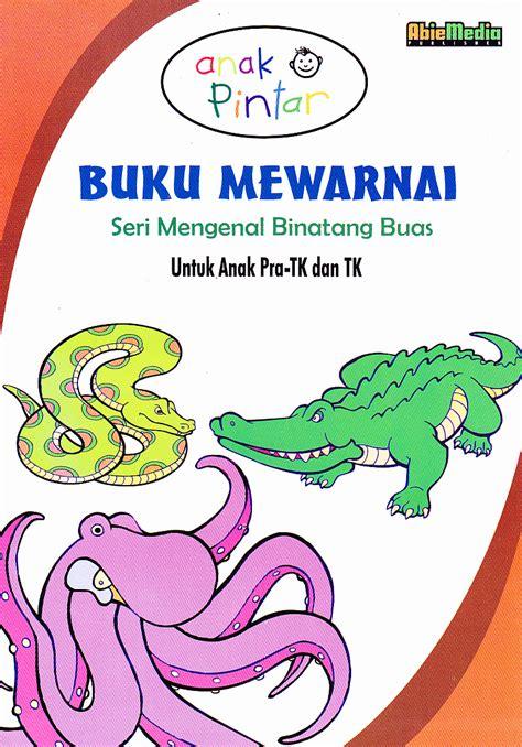 Buku Anak Seri Mengenal Hewan anak anak