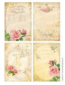 Shabby Chic Large Frame by Vintage Victorian Flower Rose Frames Postcard Ledge Border