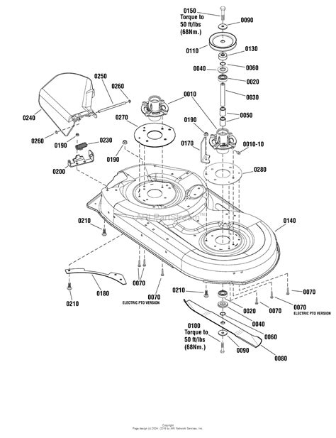 snapper mower parts diagram snapper 1695777 42 quot rotary mower parts diagram for 42