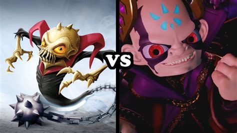 Elite Kaos skylanders superchargers elite ghost roaster vs kaos