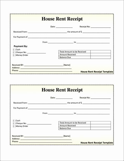 rent receipt template docs 7 receipt template for rent sletemplatess