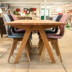 Oak Dining Tables Uk Delta Oak Dining Table