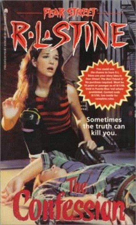 the secret bedroom rl stine fear street the confession