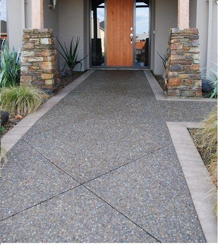 exposed aggregate concrete patios and exposed aggregate