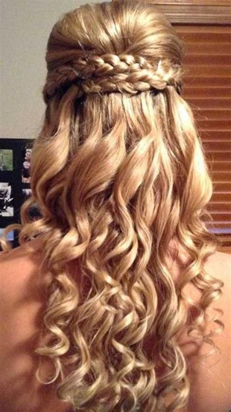 wavy prom hairstyles for long hair best 25 formal 15 photo of curly long hairstyles for prom