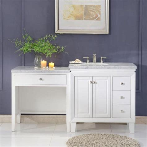 sink vanity with makeup table makeup vanity tables bathroom makeup vanity makeup