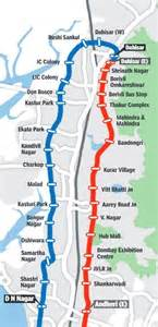 Mumbai Metro Map by Line 7 Mumbai Metro Wikipedia
