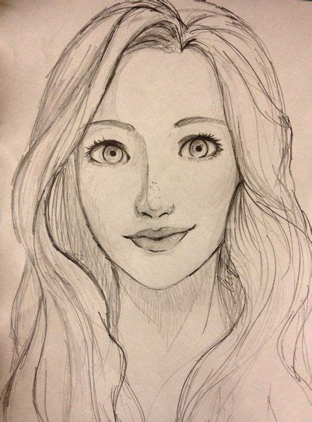Girl Face Drawing | the 25 best girl face drawing ideas on pinterest