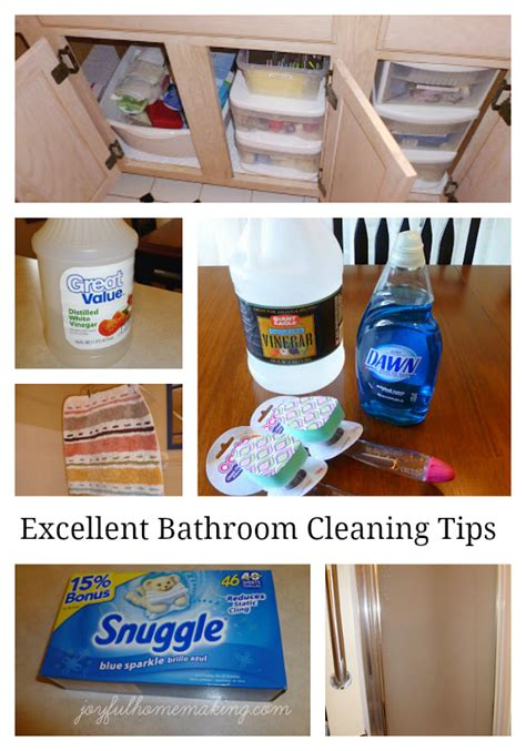 best cleaning tips for bathrooms bathroom cleaning tips joyful homemaking