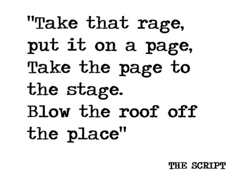 A Place Script The Script Lyrics On