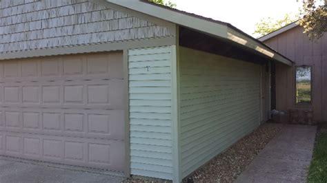 garage door jambs and trim remodeling contractor talk