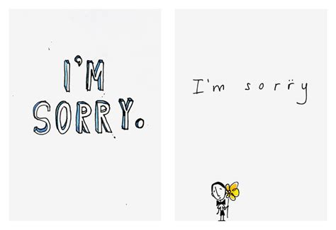 sorry card template cards i pictures