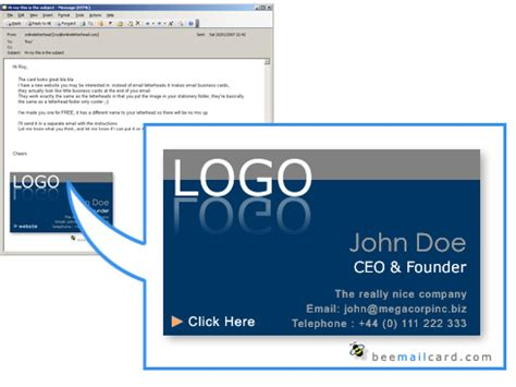 email business card templates how email signatures can brand and promote your organization the jonathan rick