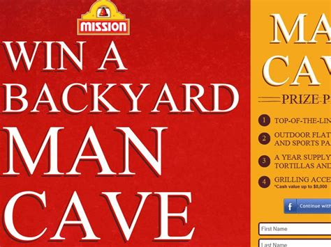 Outdoor Giveaway - mission outdoor man cave giveaway sweepstakes sweepstakes fanatics