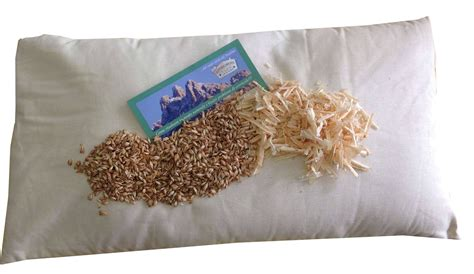 cuscini di farro cuscino di farro bio e cirmolo 80x40cm cura corpo