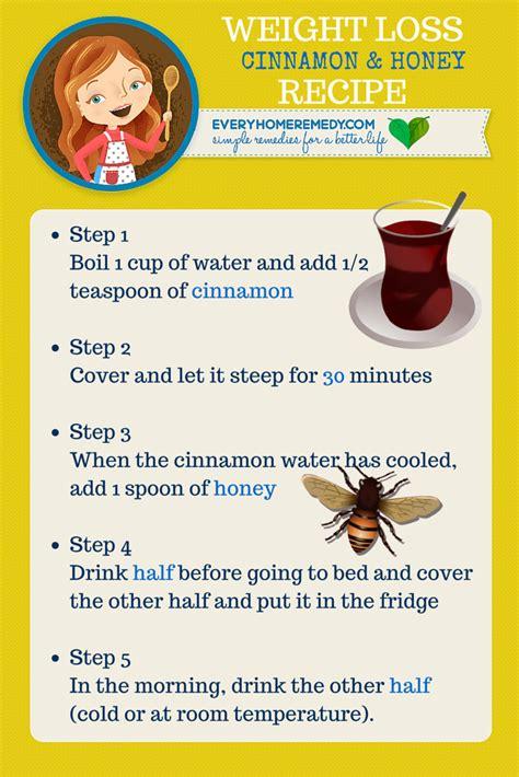 weight loss using honey cinnamon and honey for weight loss recipe