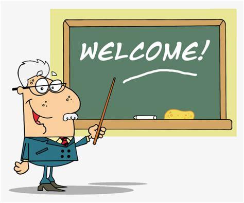 imagenes de welcome en ingles aula de ingles dibujo a mano de dibujos animados maestro