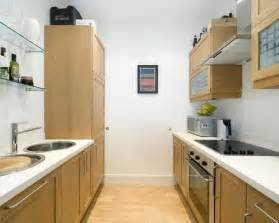 Kitchen small galley kitchen wooden floor compact wood cabinets glass