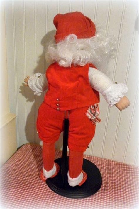Handmade Santa Claus Dolls - handmade vintage santa claus doll