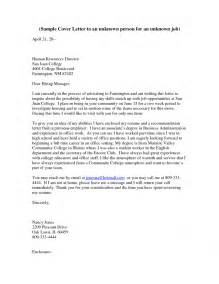 How To Address Cover Letters by Cover Letter How To Address Someone In A Cover Letter