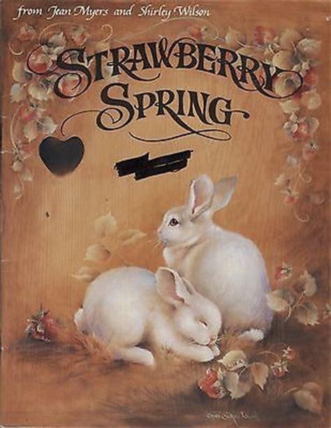 strawberry spring  jean myers shirley wilson  portadasrevistas pinterest