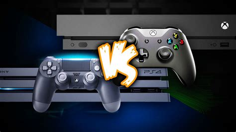 xbox one vs ps4 console xbox one x vs ps4 pro comparing console specs and