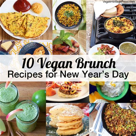 new year food vegetarian 10 vegan brunch recipes for new year s day vegan