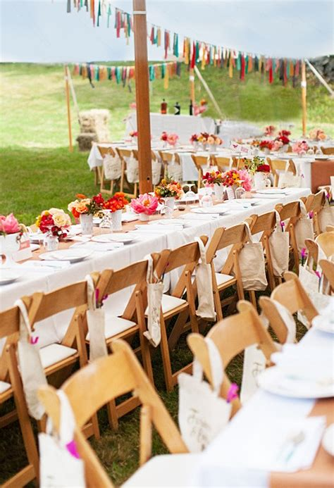 casual backyard wedding reception your outdoor wedding reception what s your style