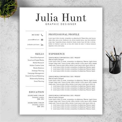 Resume Samples Editable by Teacher Resume Template Cv Template And Cover By