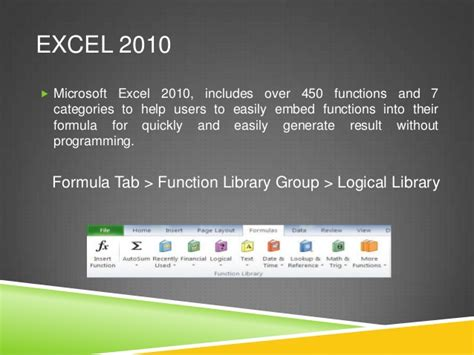 Mscs Vs Mba by Microsoft Excel 2010 Useful Formula Functions