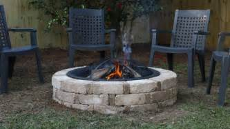 How to build a backyard fire pit from a kit today s