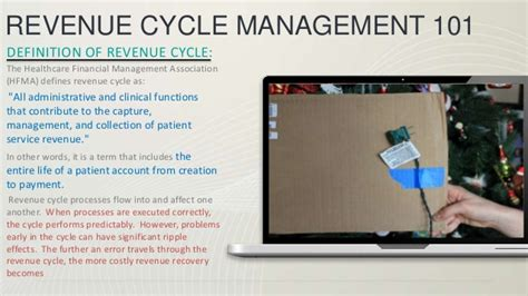 a revenue managers point of view on hospitals home introduction to revenue cycle management
