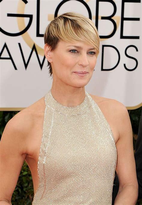 robin wright just before she cut her hair 17 best images about hair and make up on pinterest faux