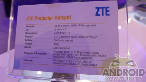 Zte Projector Hotspot zte projector hotspot on a confused android device