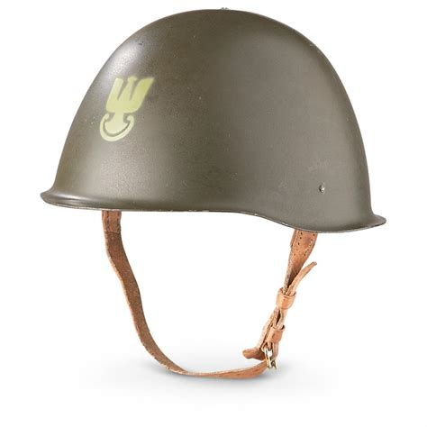 helmets for used polish military steel helmet olive drab 233222