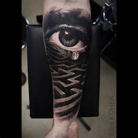 eye tattoo black 25 unique realistic eye ideas on