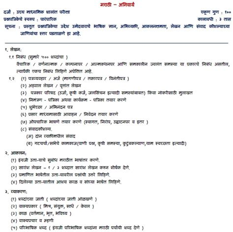 appointment letter in marathi language application letter format in marathi