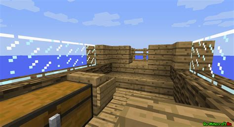 minecraft boat map 1 7 10 map 1 7 2 boat survival beta выживание на корабле