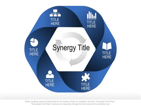 Use This Fully Editable Venn Shape To Show The Relationship And Or Synergy Of Disparate Elements Graphic Template