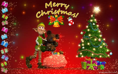 merry christmas wallpaper images wallpaper cave