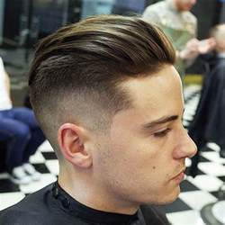 gelled comb back haircut the slicked back undercut hairstyle men s hairstyles