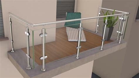 terrassenüberdachung alu glas mit montage edelstahl glas pfosten gel 228 nder huero de als bausatz