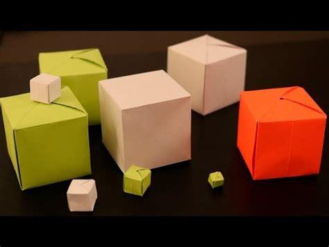 Origami Seamless Cube - origami seamless cube no doovi